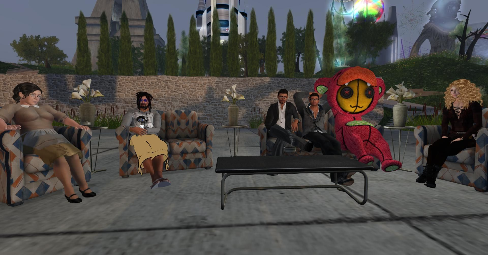 Rörelsehindrade personer lever livet i Second Life