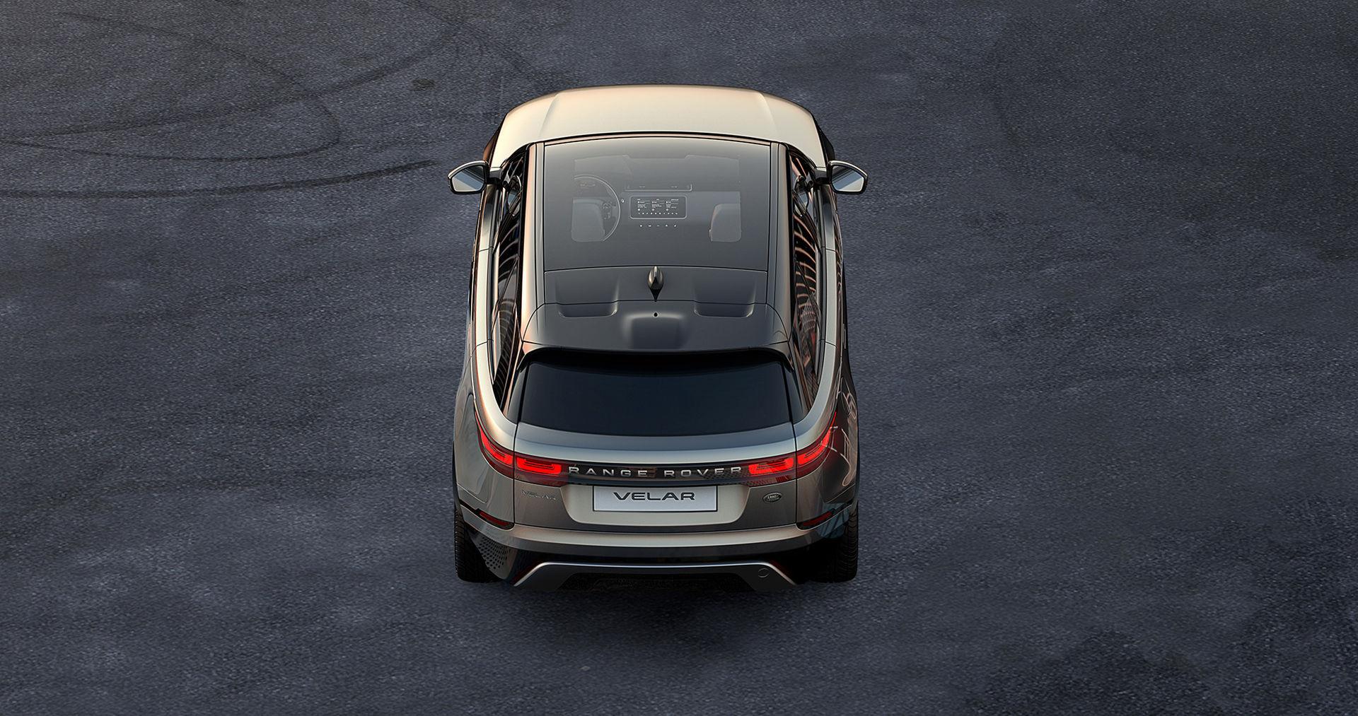 Range Rover visar lite av nyheten Velar