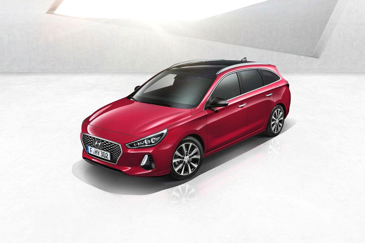 Nya Hyundai i30 som kombi