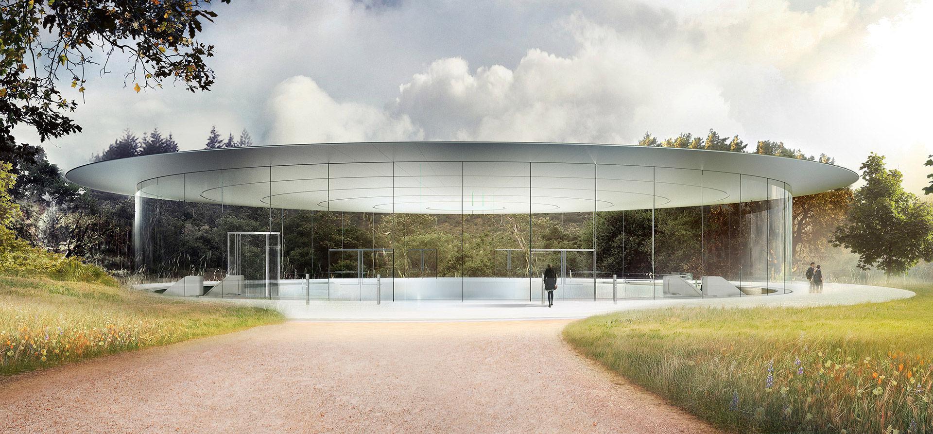 Apple Park öppnar i april