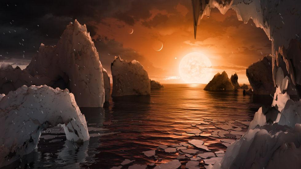 Kluster med jordliknande planeter runt en stjärna hittade