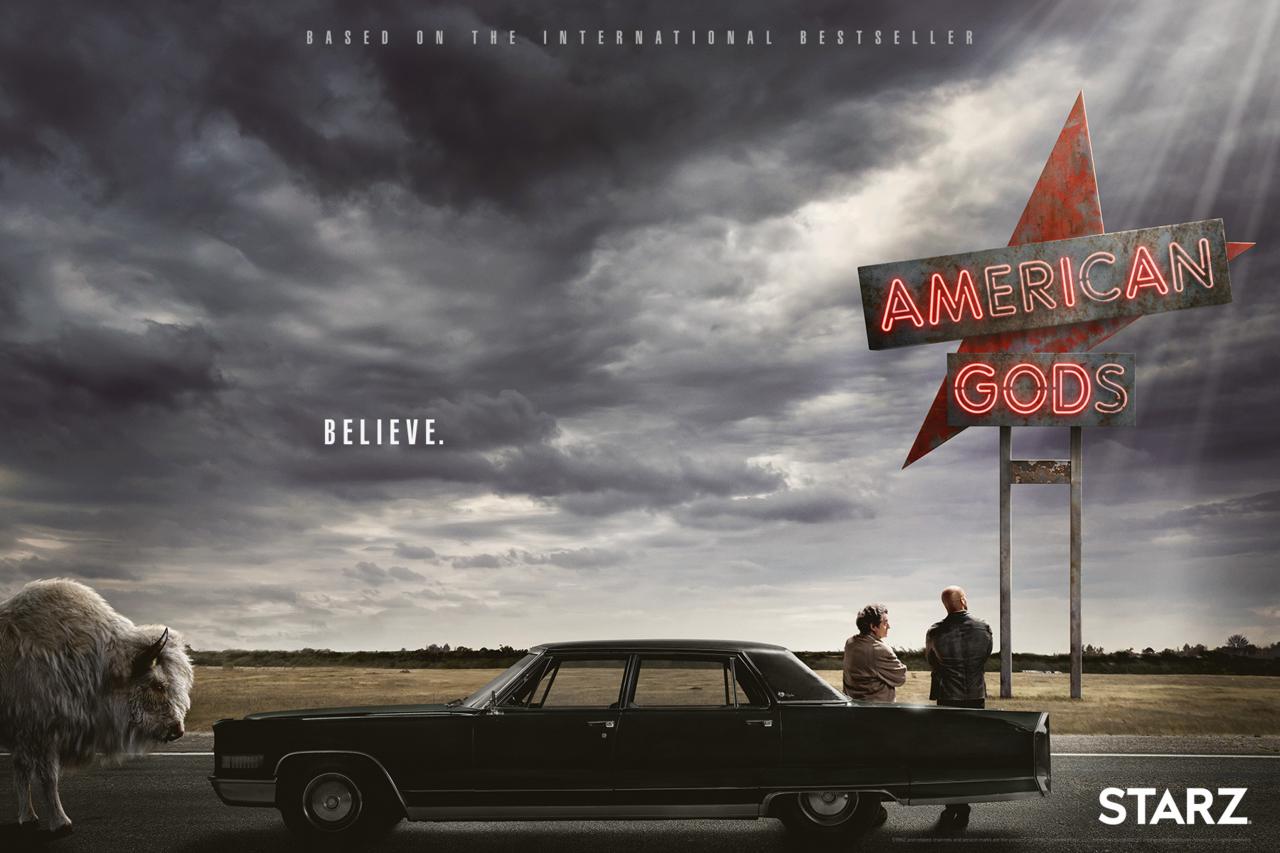 Premiärdatum för American Gods