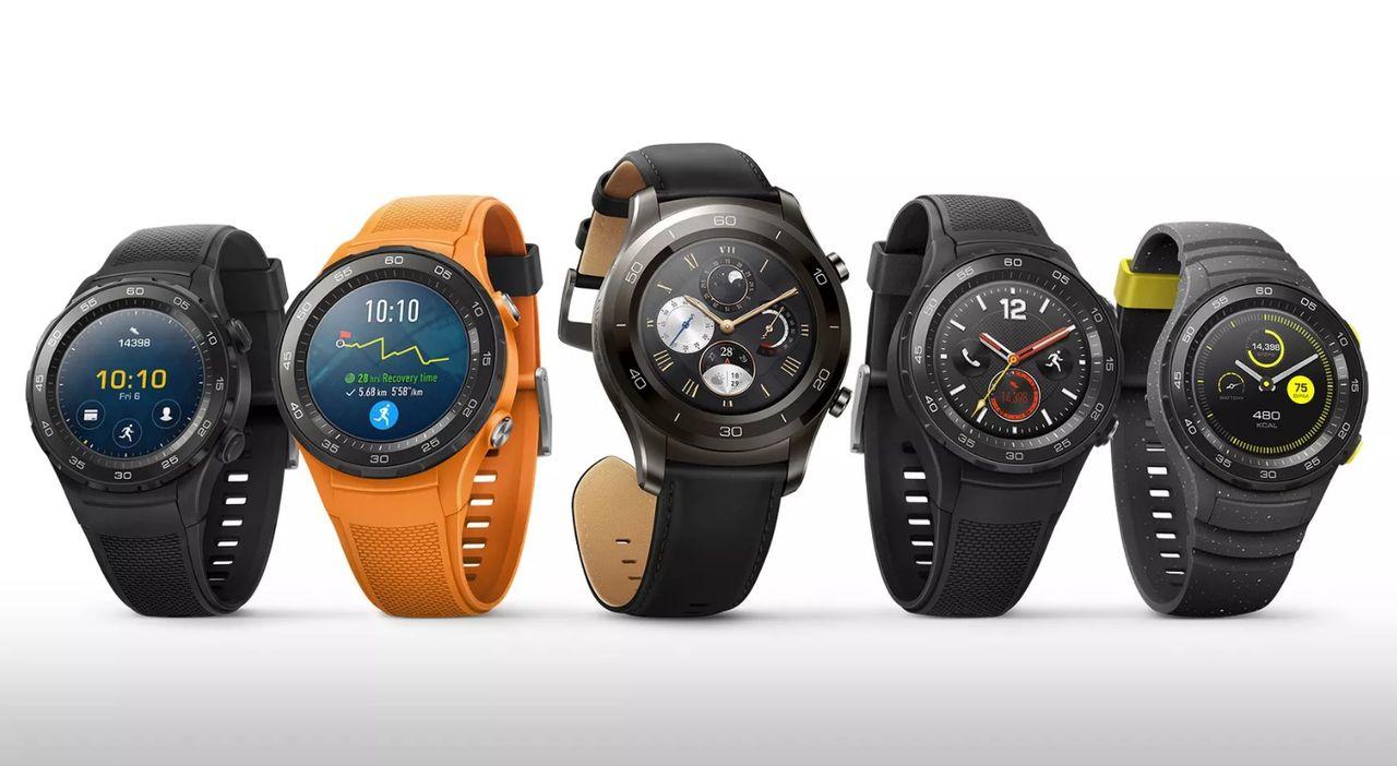Huawei visar upp Watch 2 Classic och Watch 2