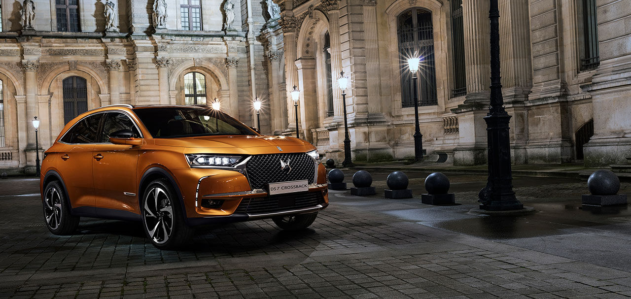 DS Automobiles presenterar suven DS7 Crossback