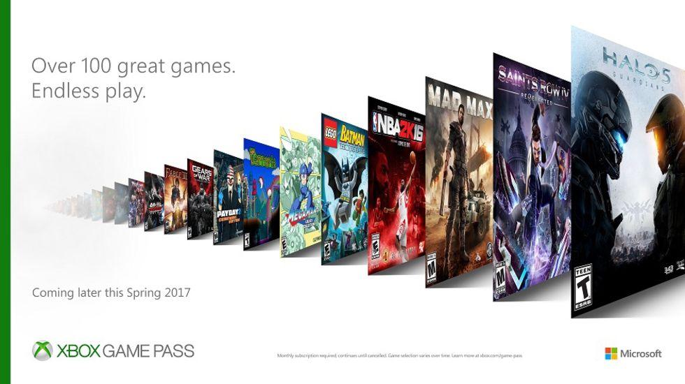 Xbox Game Pass är en ny prenumerationstjänst för Xbox