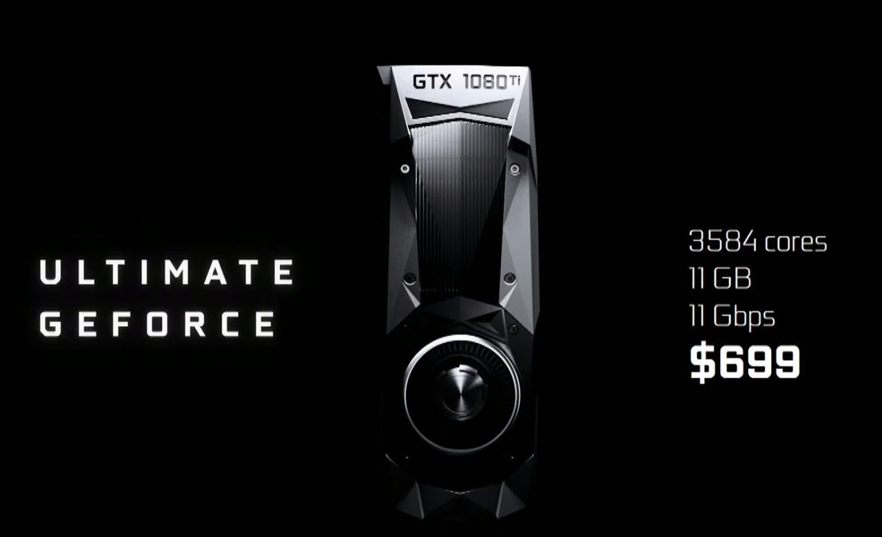 Nvidia visar upp GTX 1080 Ti