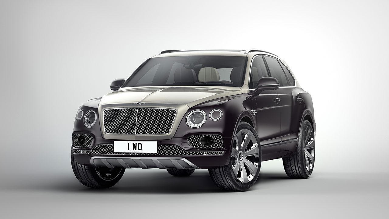 Bentley presenterar Bentayga Mulliner
