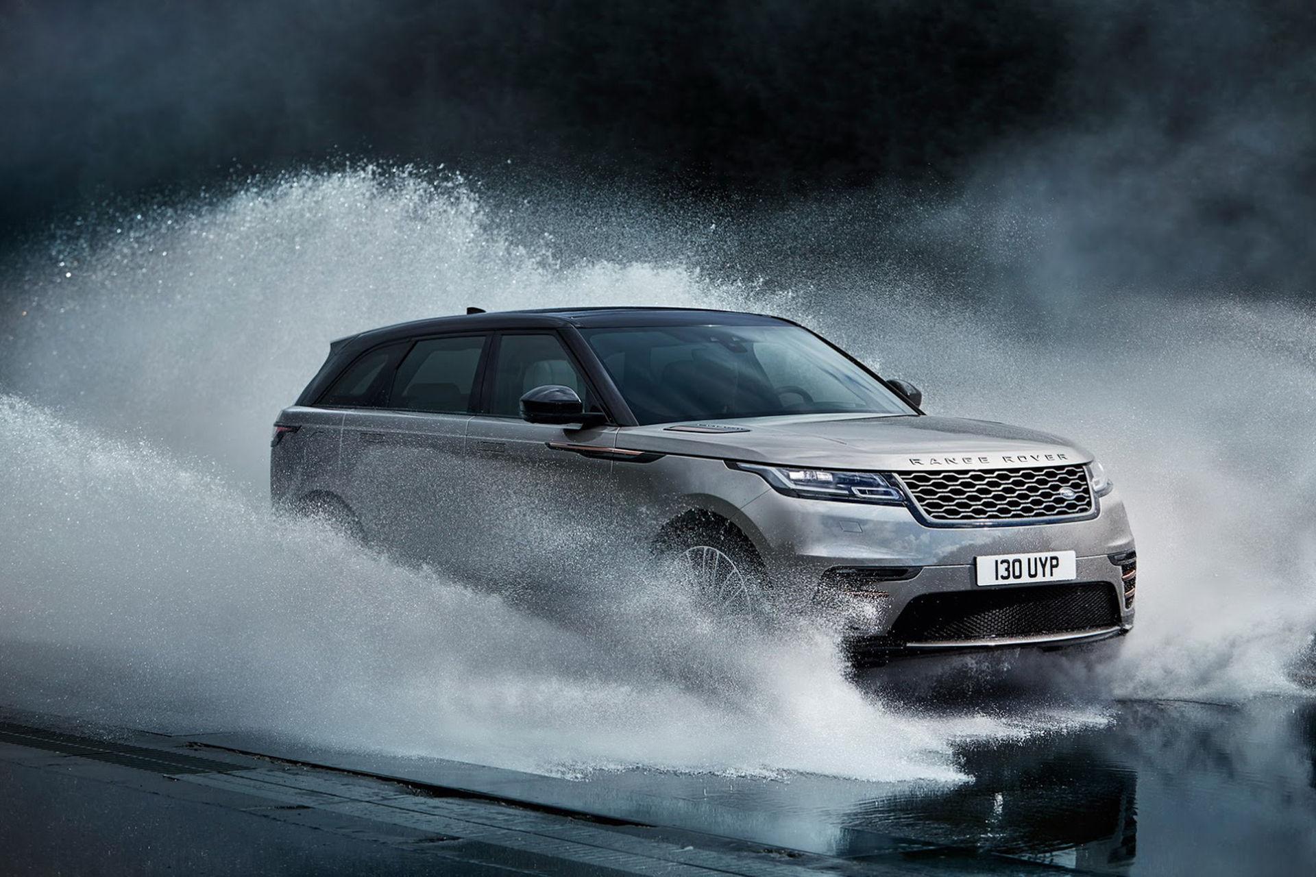 Range Rover presenterar Velar