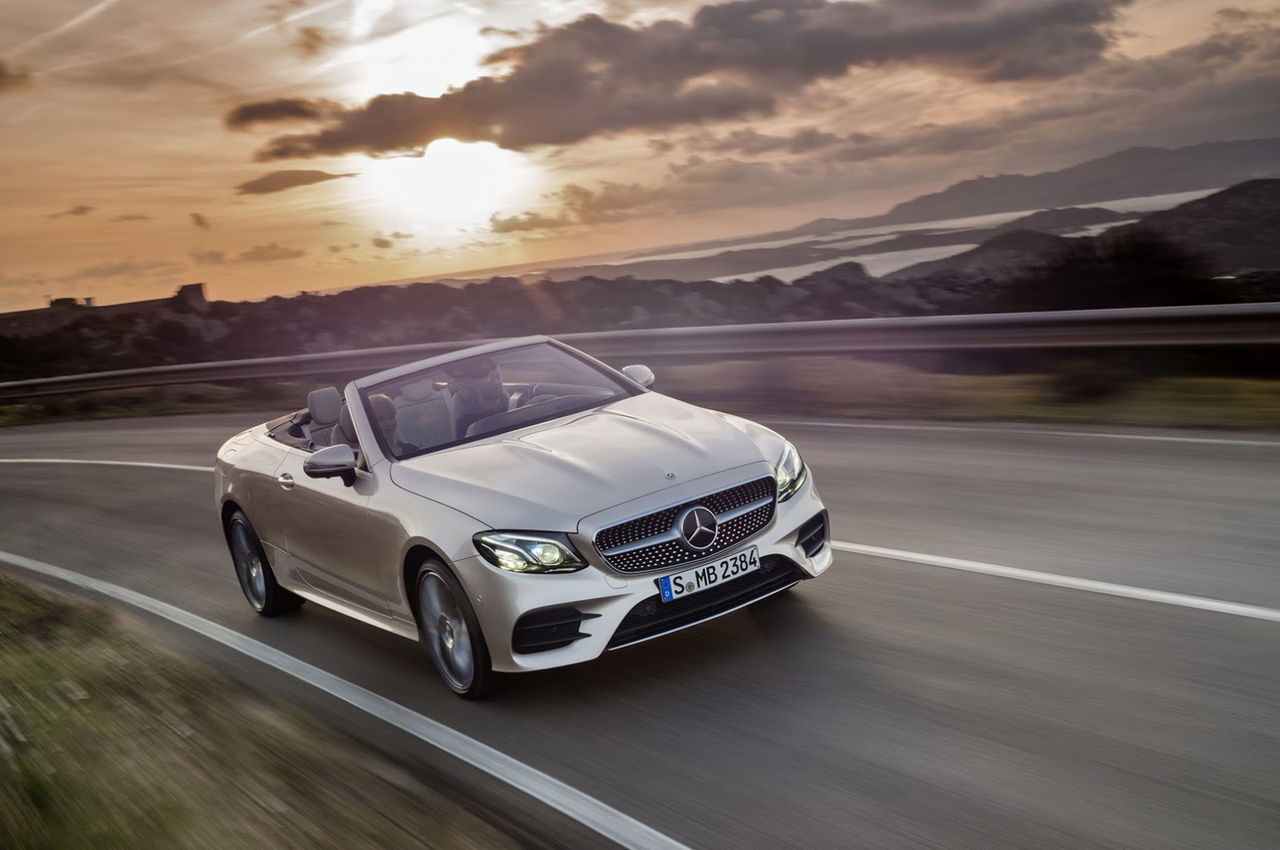 Nya Mercedes E-Klass som cabriolet är här