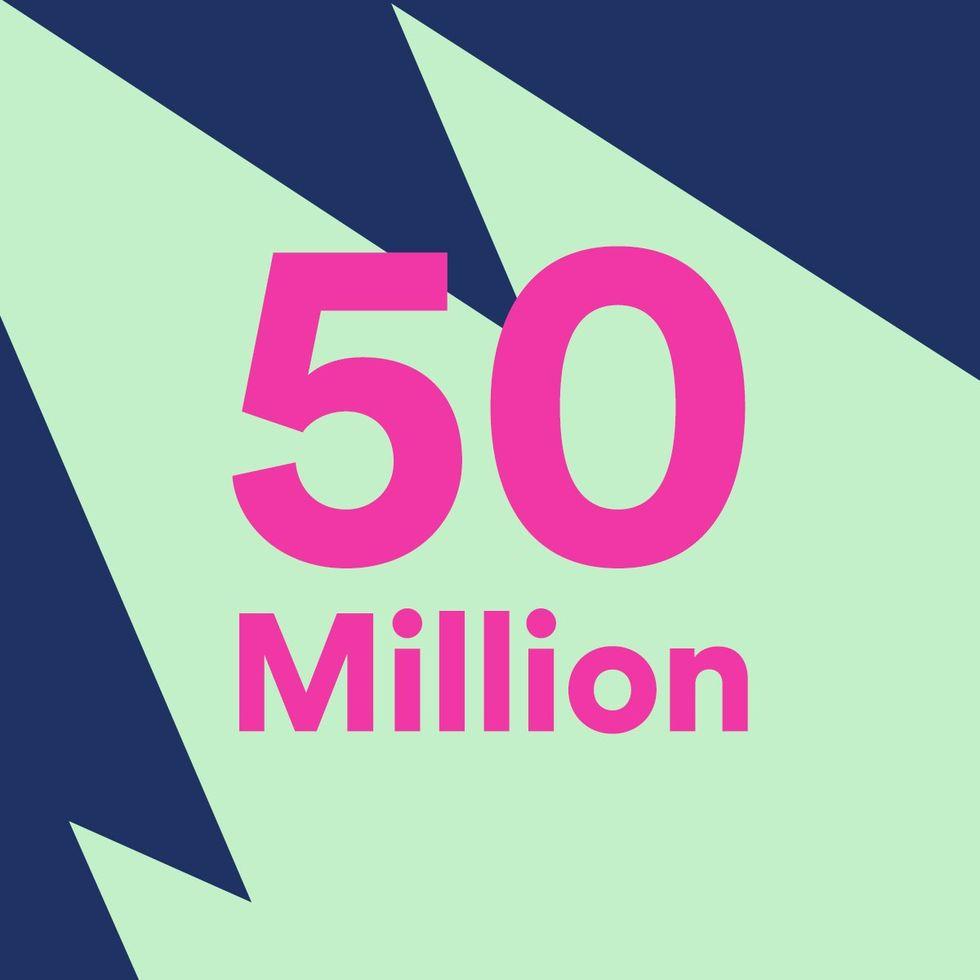 Spotify har nu 50 miljoner betalande användare