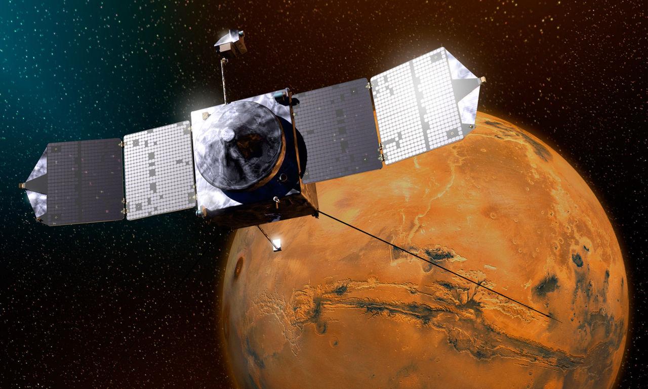 MAVEN undvek kollision med Mars måne Phobos