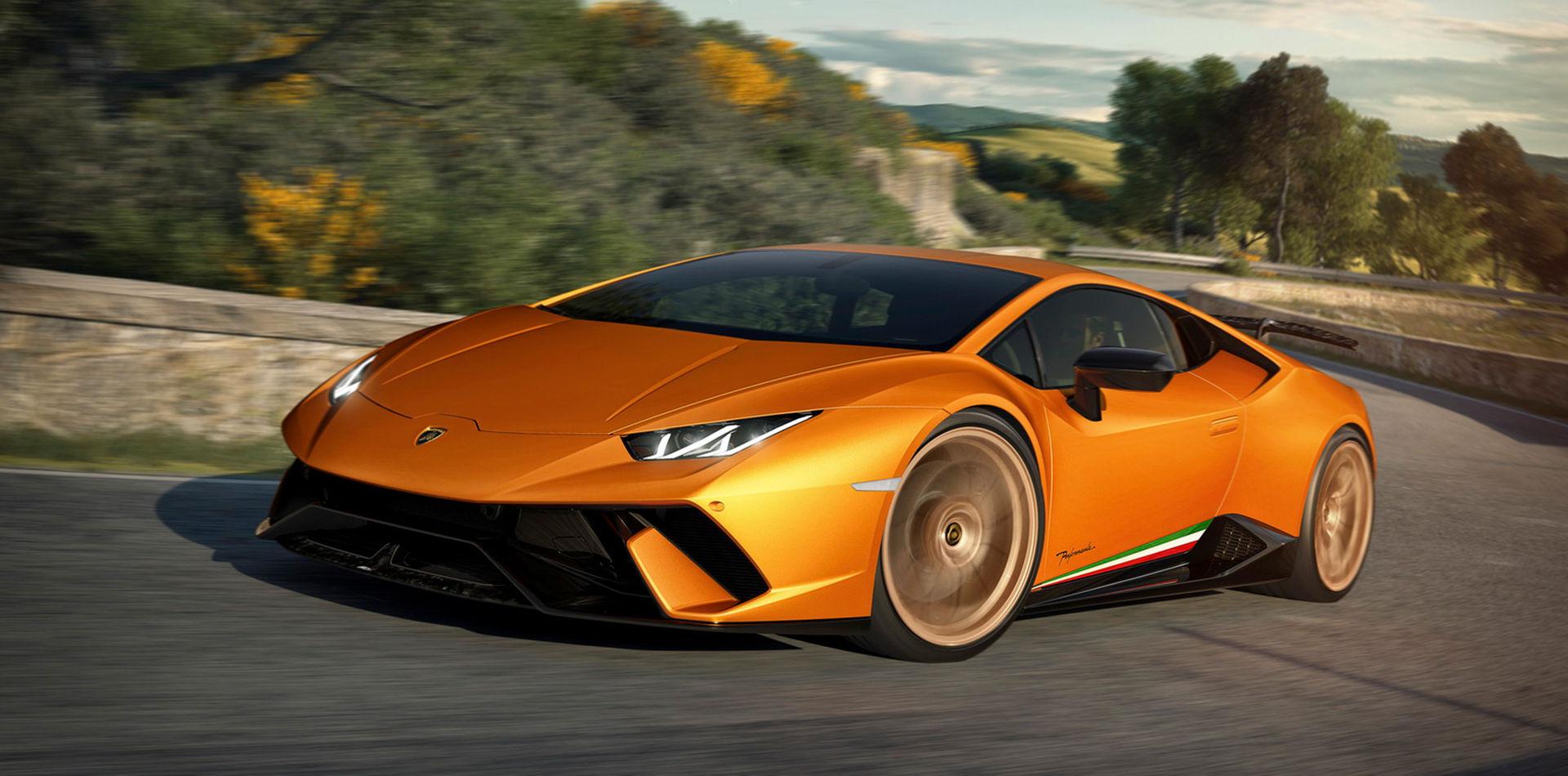 Lamborghini visar Huracán Performante