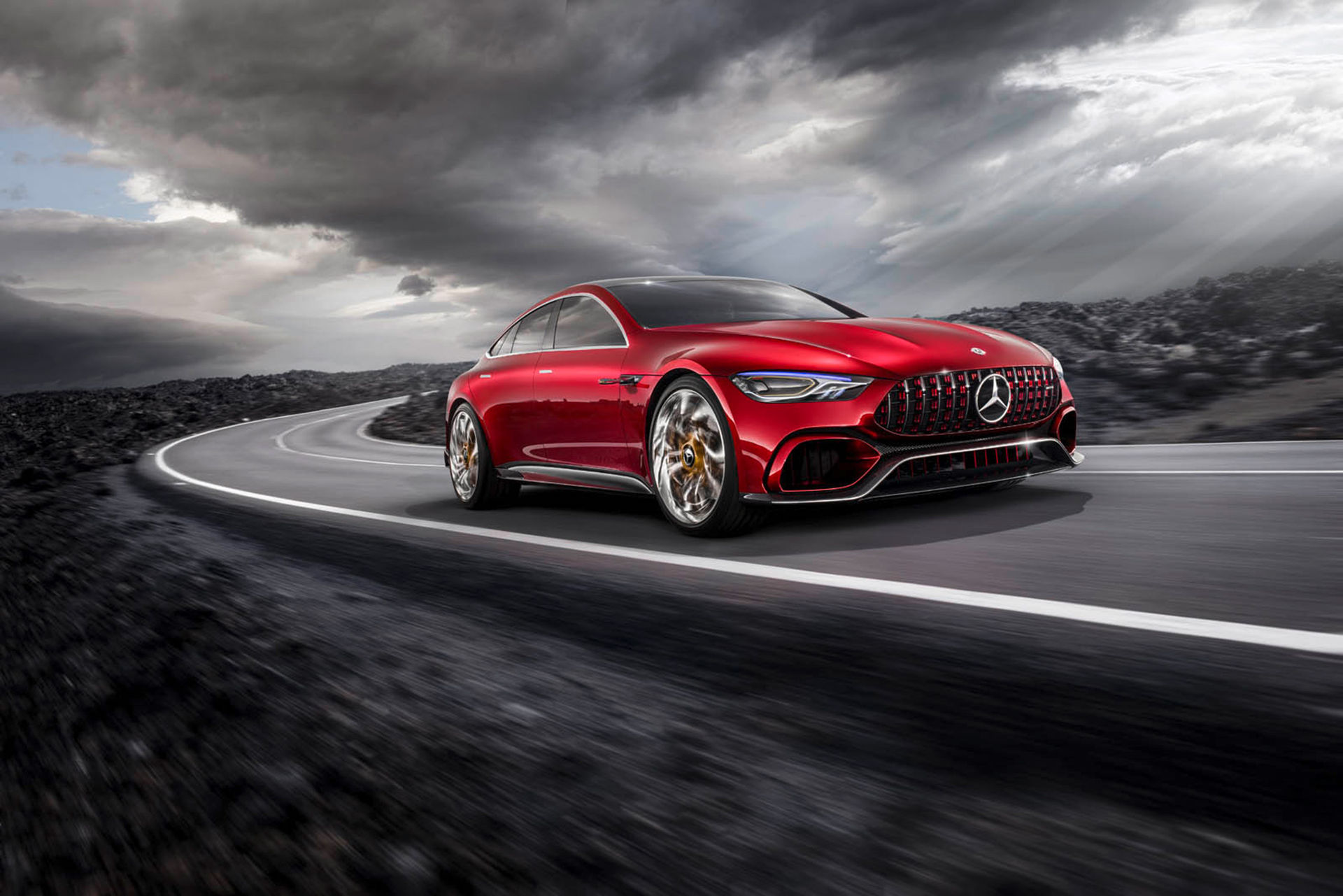 Mercedes presenterar AMG GT Concept