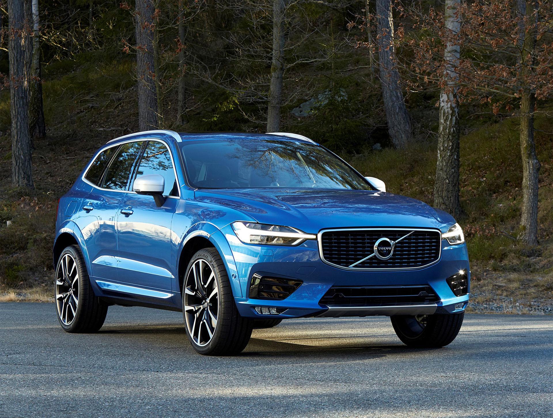 Nu är den här - nya Volvo XC60