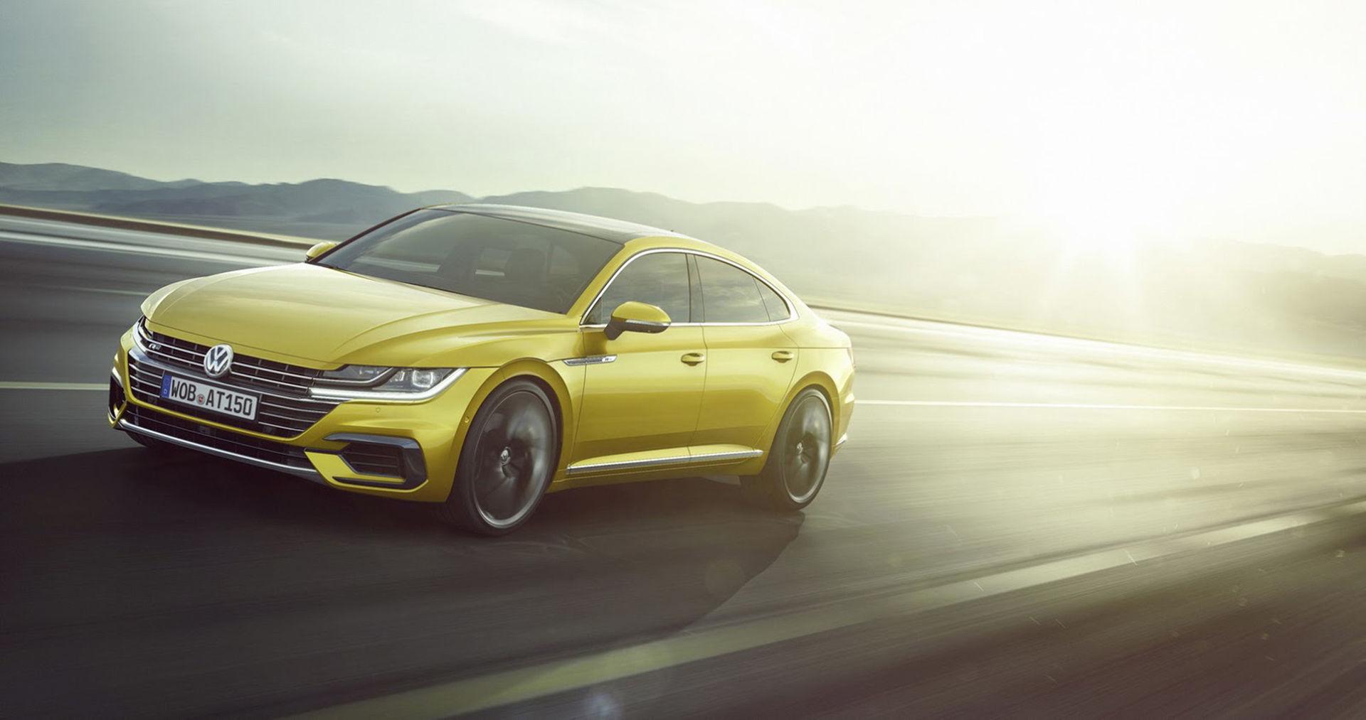Nu är Volkswagens nya modell Arteon här