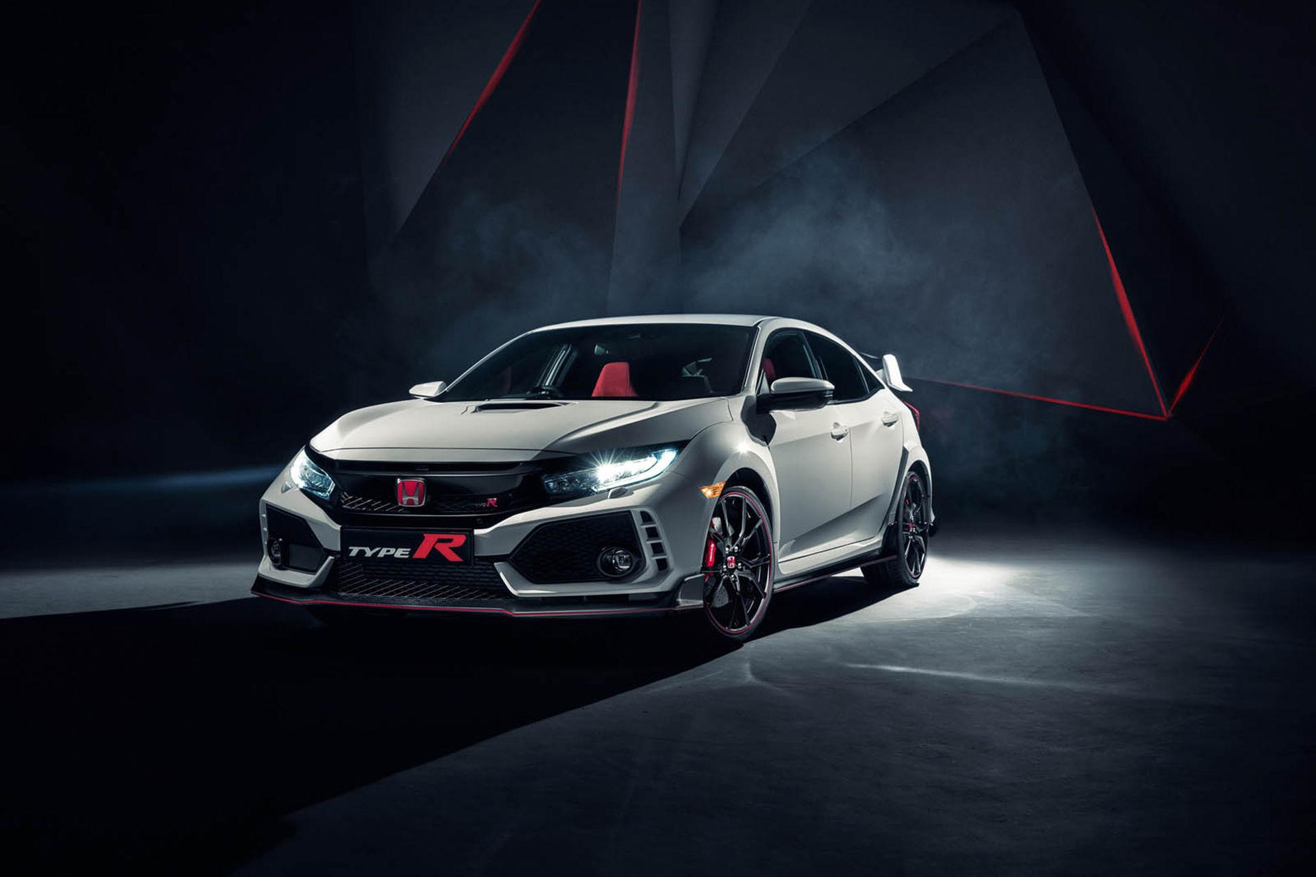 Honda rullar ut nya Civic Type R