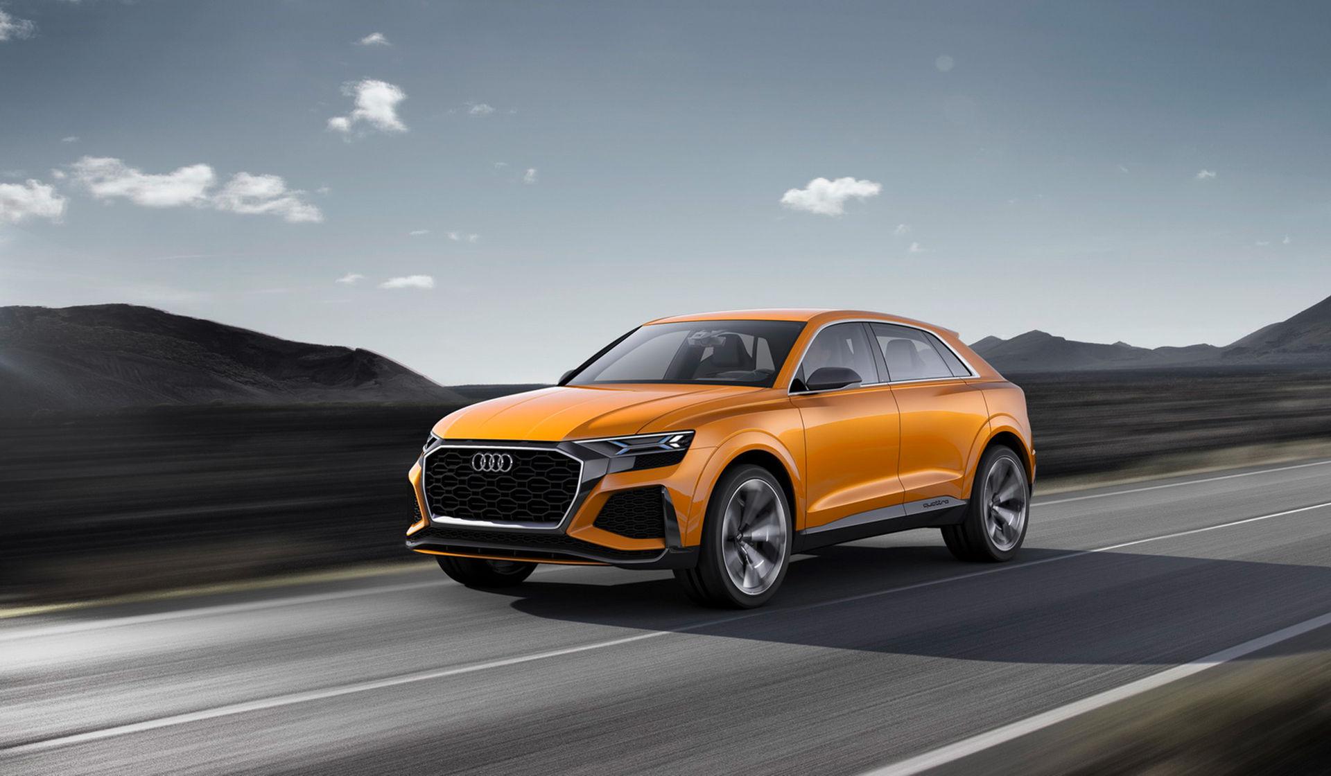 Audi visar sportigare koncept av Q8