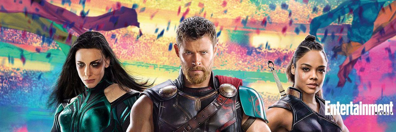 Första bilderna från Thor: Ragnarok