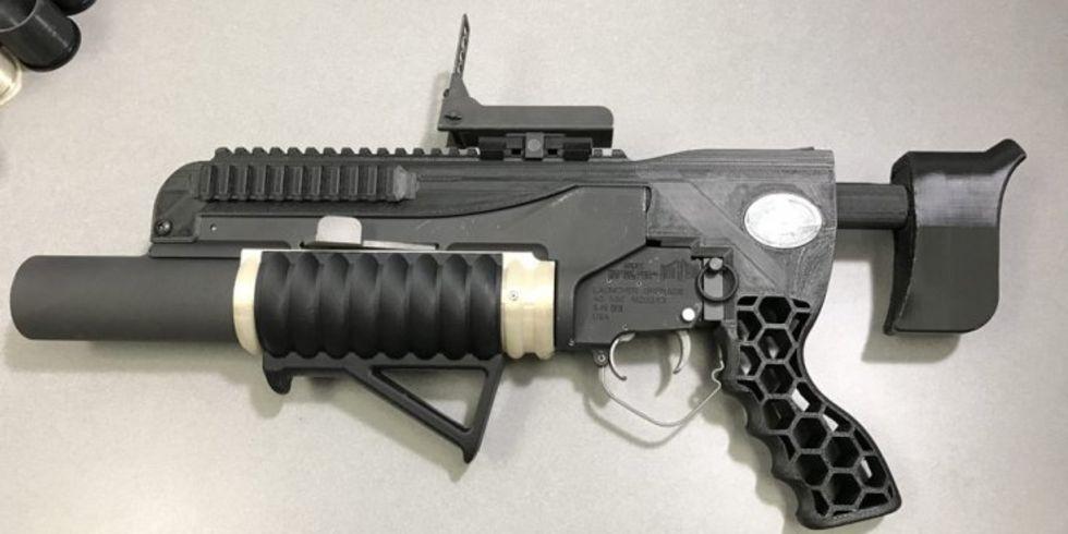 RAMBO är en 3D-utskriven granatkastare