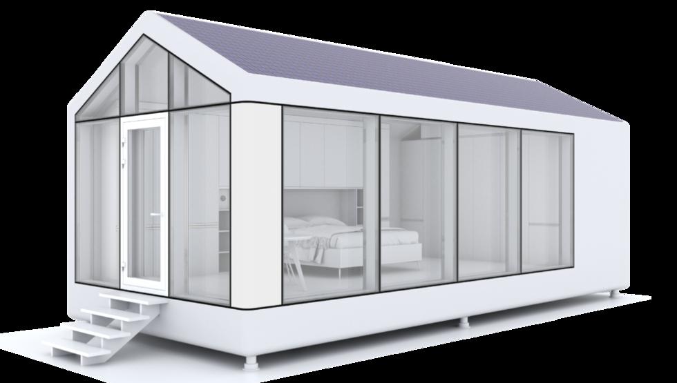 PassivDom är ett 3D-utskrivet hus