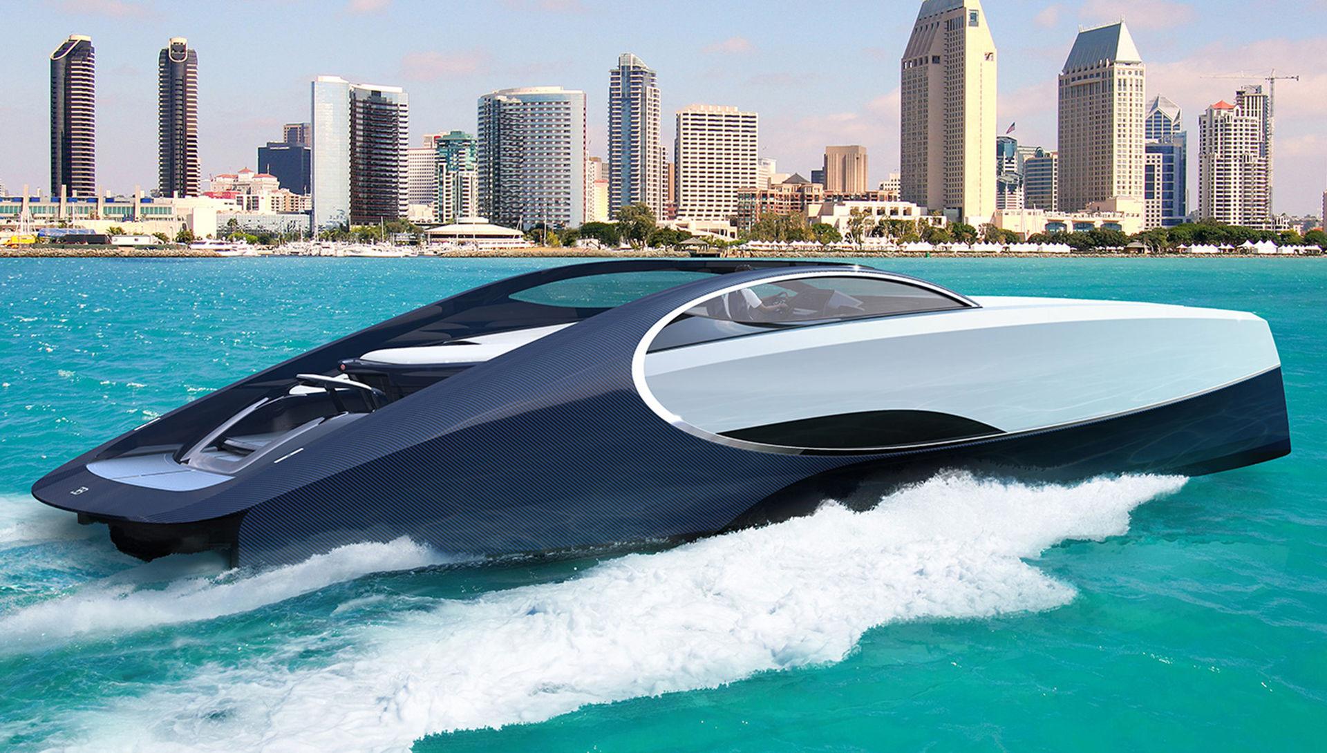 Ny båt från Bugatti