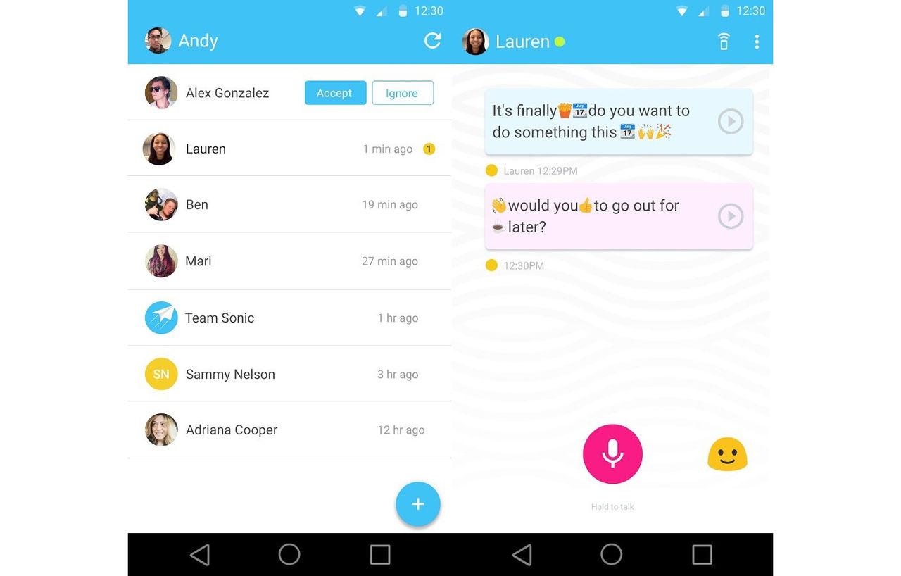 Googles meddelande-app Supersonic är nu släppt till Android