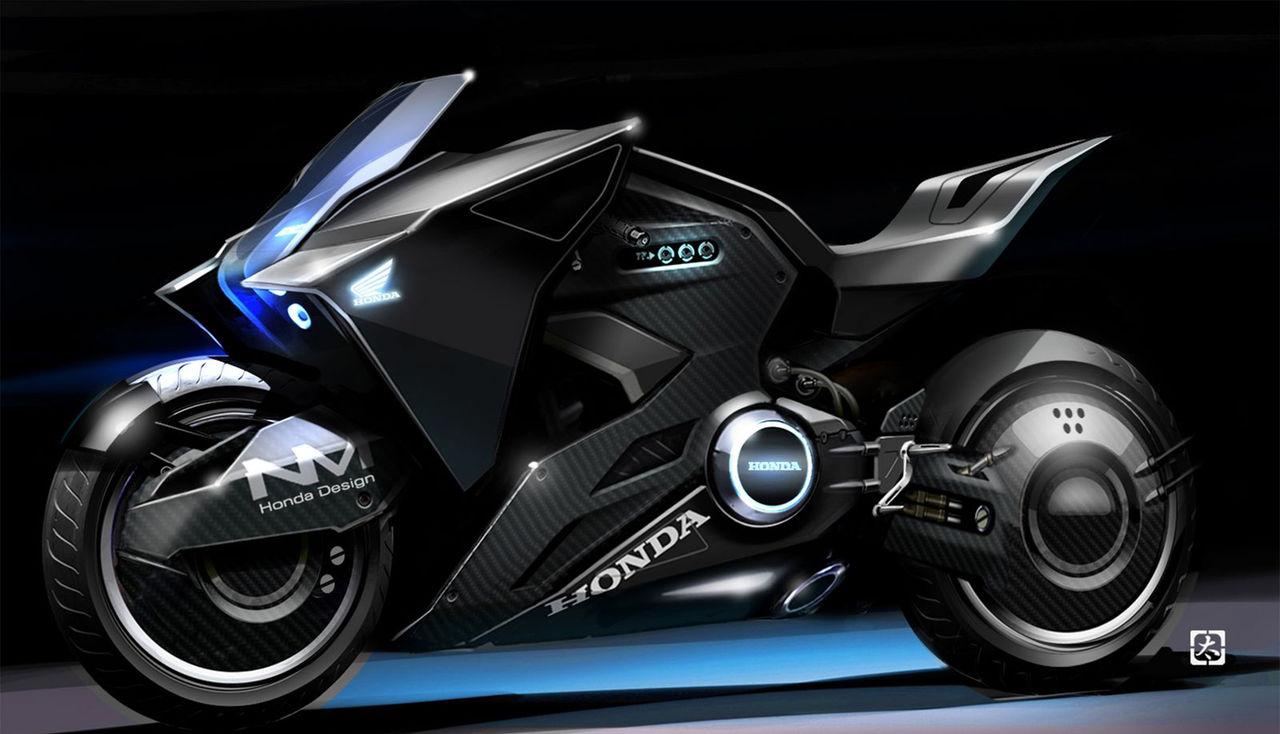 Honda visar hojkoncept för Ghost in the Shell