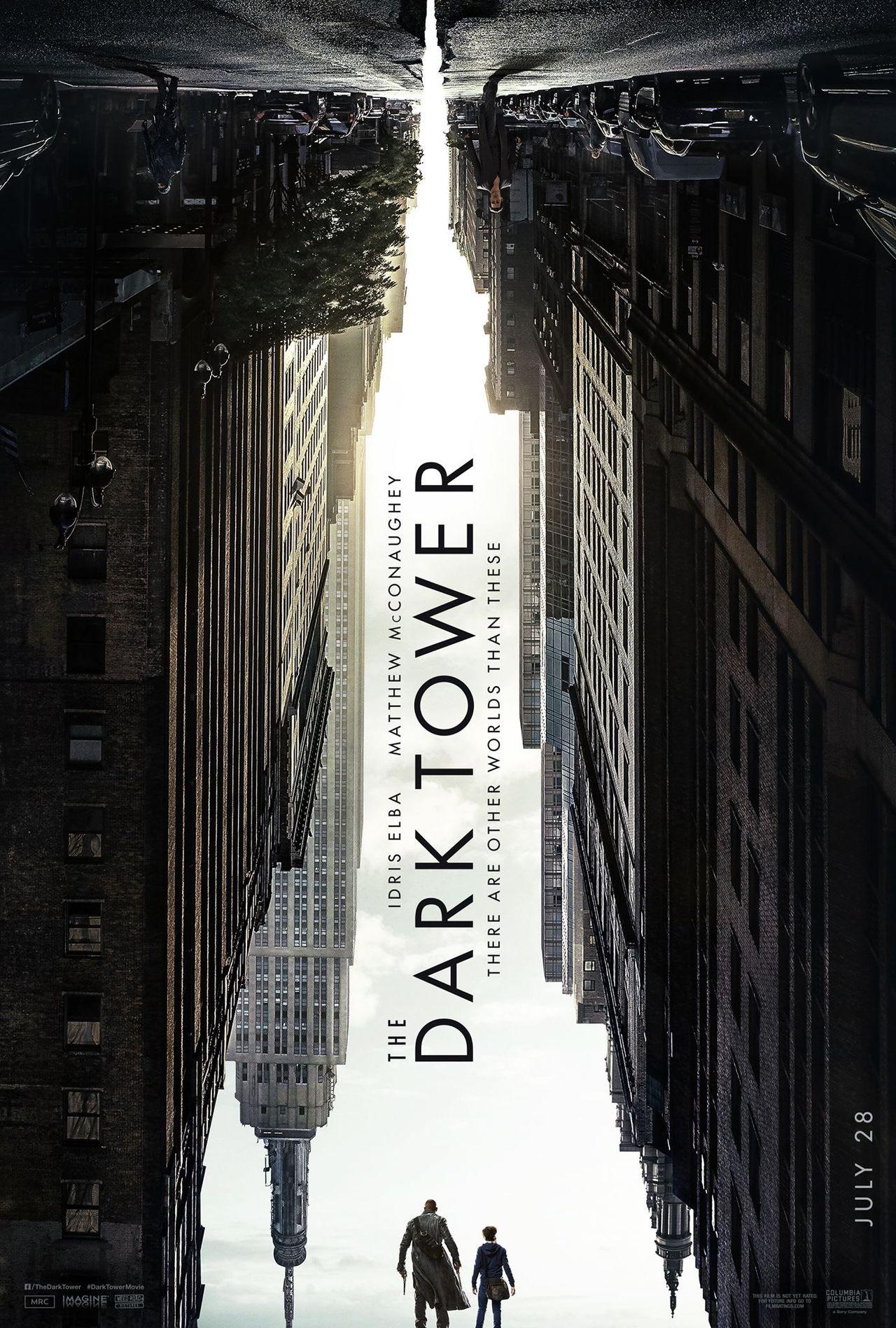 Stephen King visar första postern för The Dark Tower