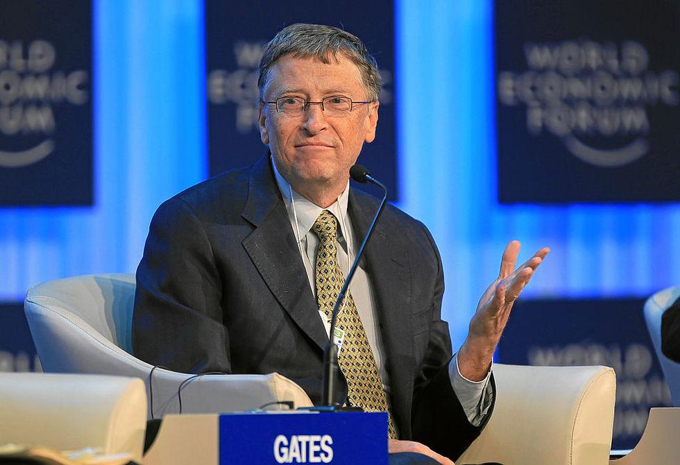 Bill Gates rikast i världen