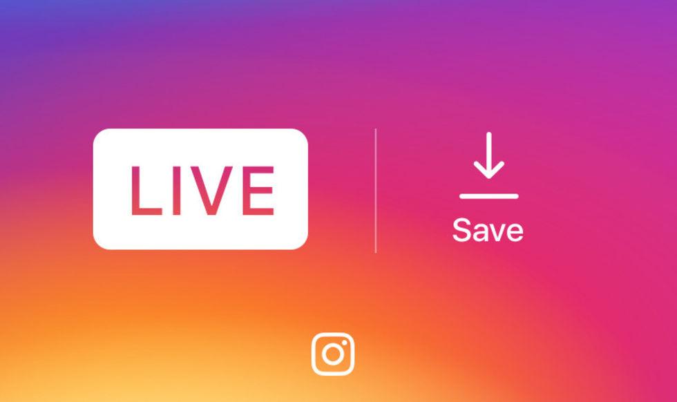 Nu kan du spara dina livesändningar från Instagram. Smidigt!  187d73756cea9