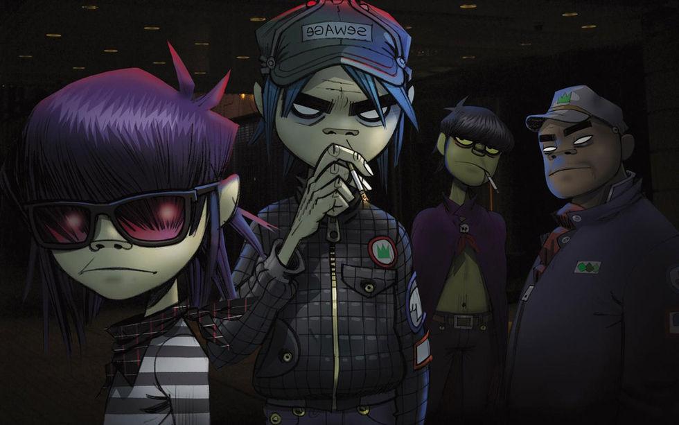 Nya Gorillaz-låtar läckte på nätet på grund av kasst lösenord