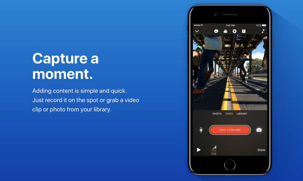 Clips är en ny videoapp från Apple