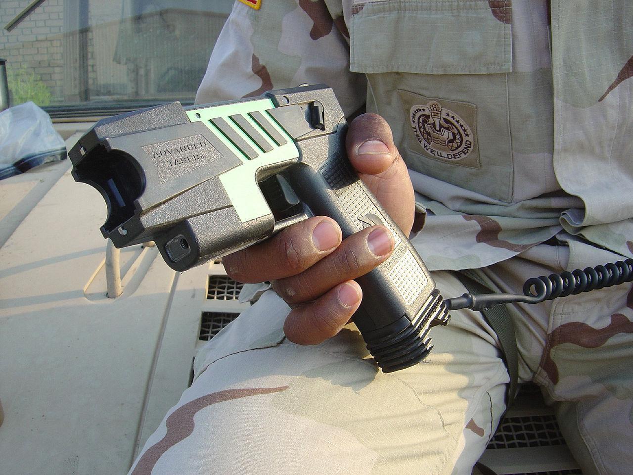 Snart börjar polisen testa elchockvapen