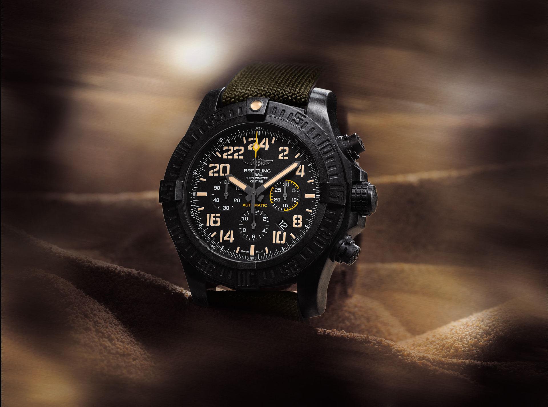 Breitling visar tre nya klockor