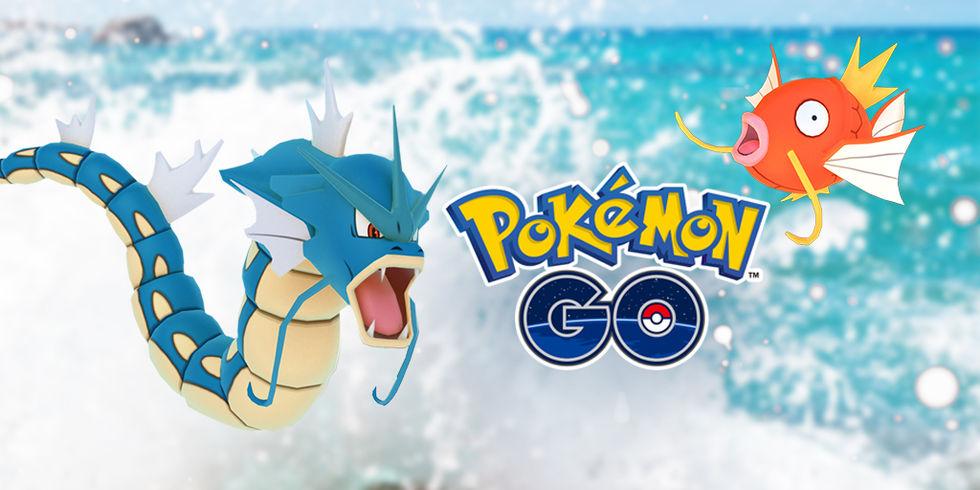 Vattenfestival i Pokémon Go