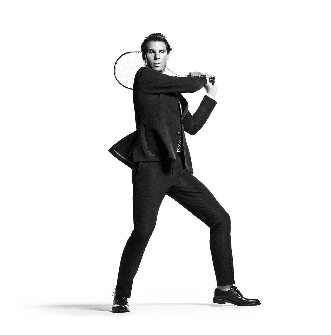 Tommy Hilfiger gör kostymer med Rafael Nadal