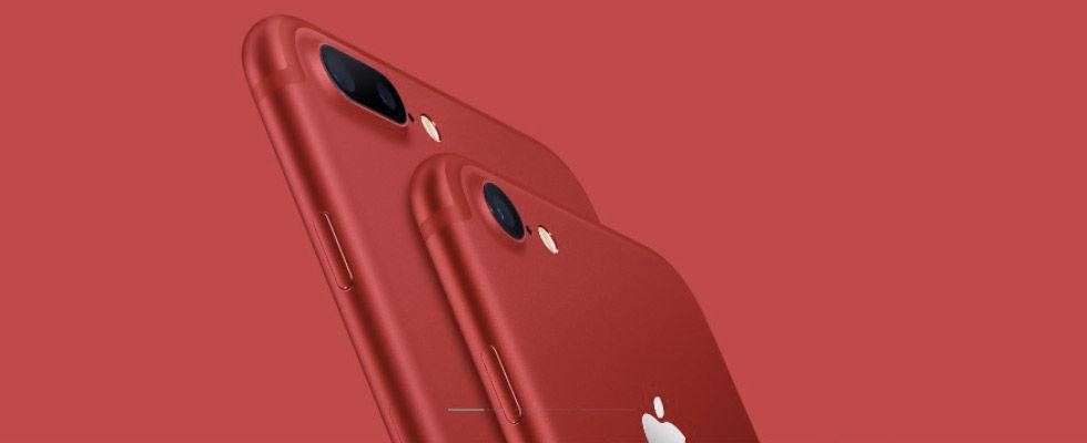Nu kan du beställa iPhone 7 RED och nya iPad