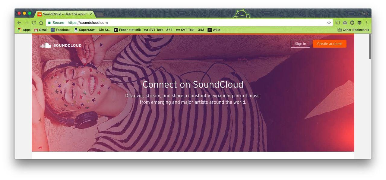 SoundCloud lånar 70 miljoner dollar