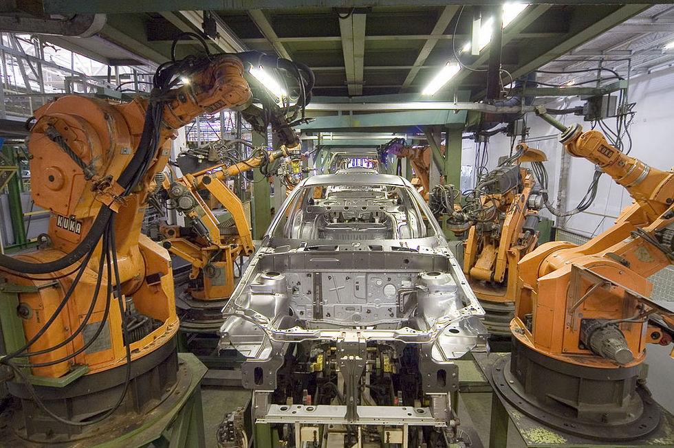 Robotarna tar våra jobb