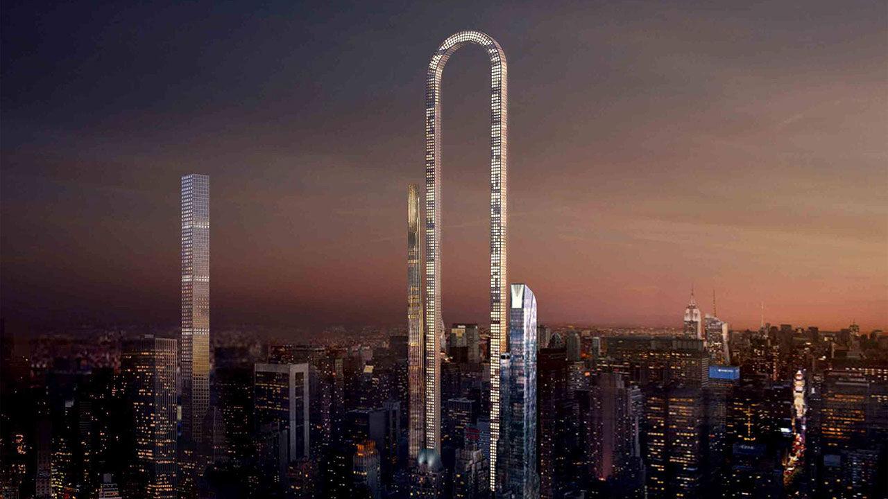 Arkitekt vill bygga u-formad skyskrapa