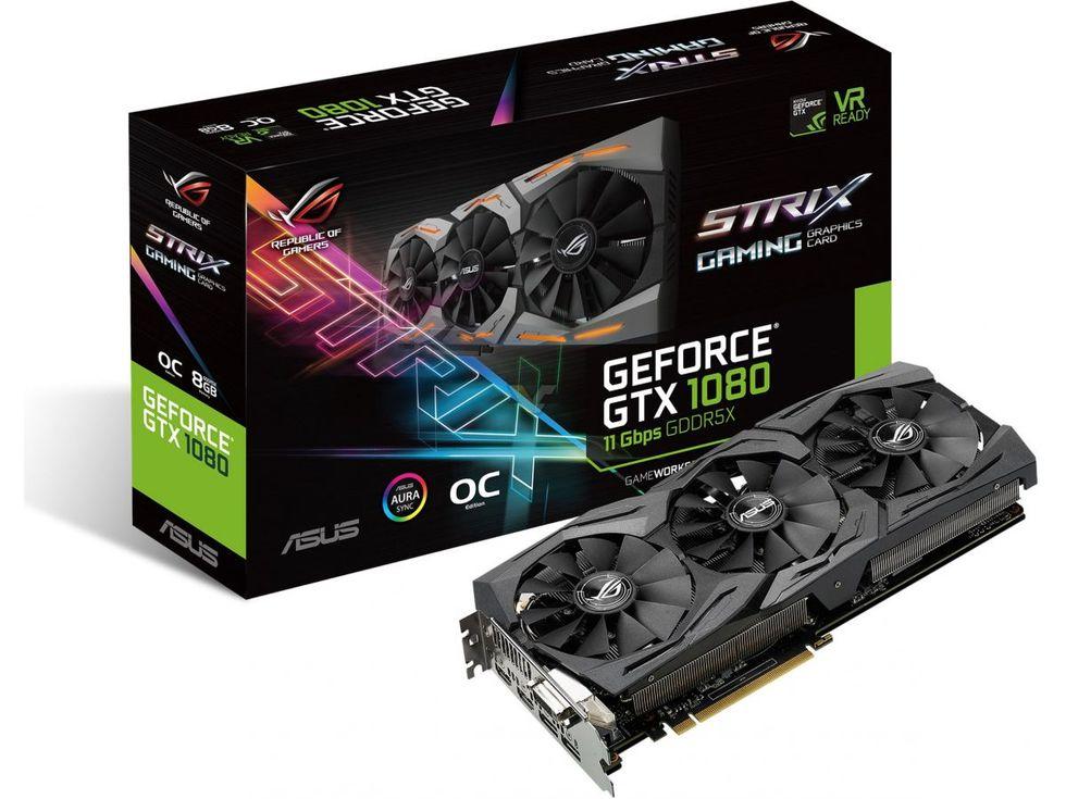 Snabbare minne i nya GTX 1080 och 1060 från Asus