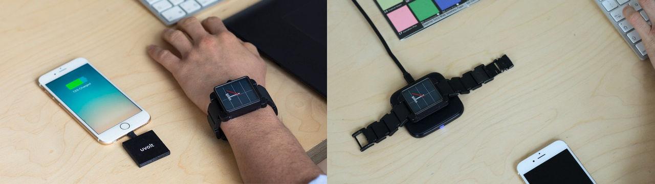 Uvolt är en klocka som kan ladda din mobiltelefon