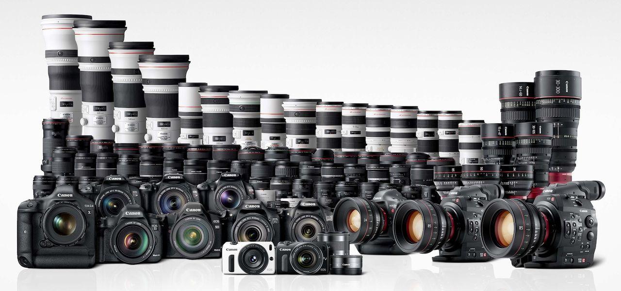Canon jobbar på ny teknik för objektiv