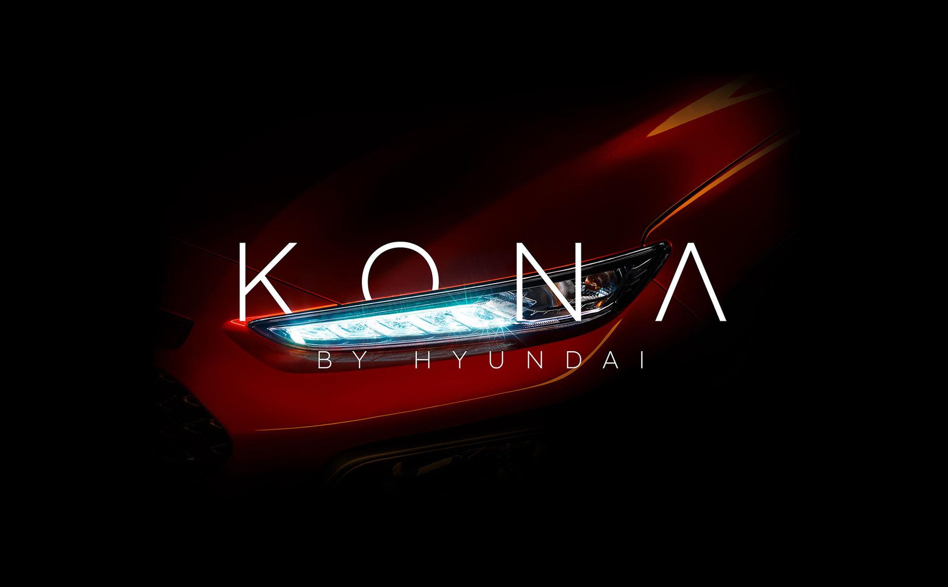 Kona är namnet på Hyundais nya SUV