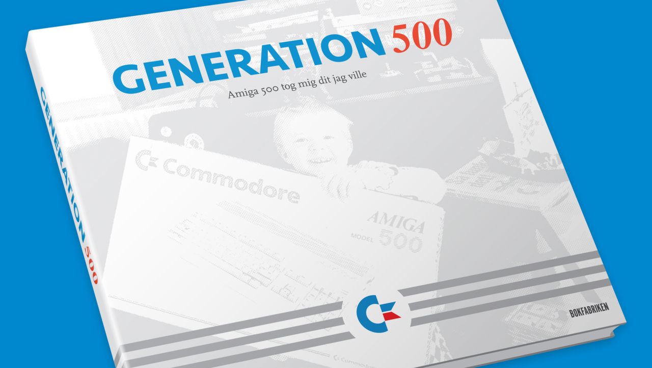 Svensk bok om Amiga 500 på gång