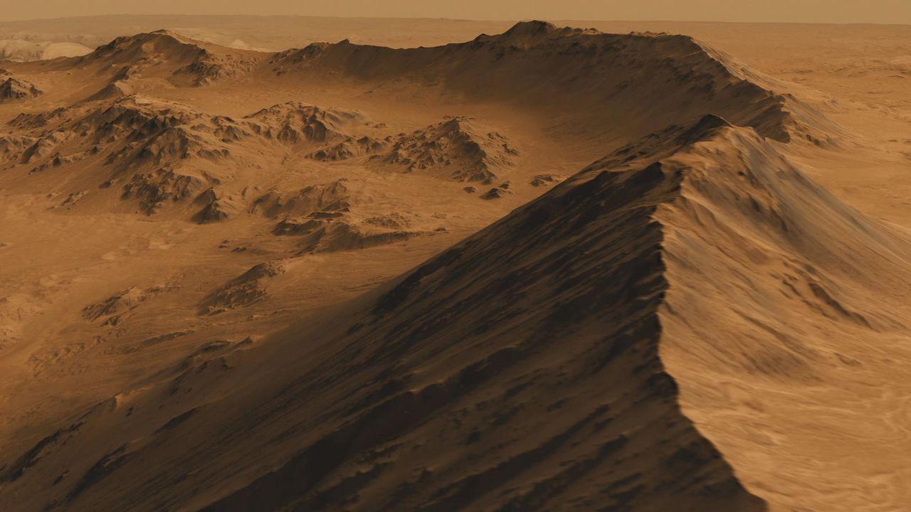 Två tredjedelar av Mars atmosfär har försvunnit