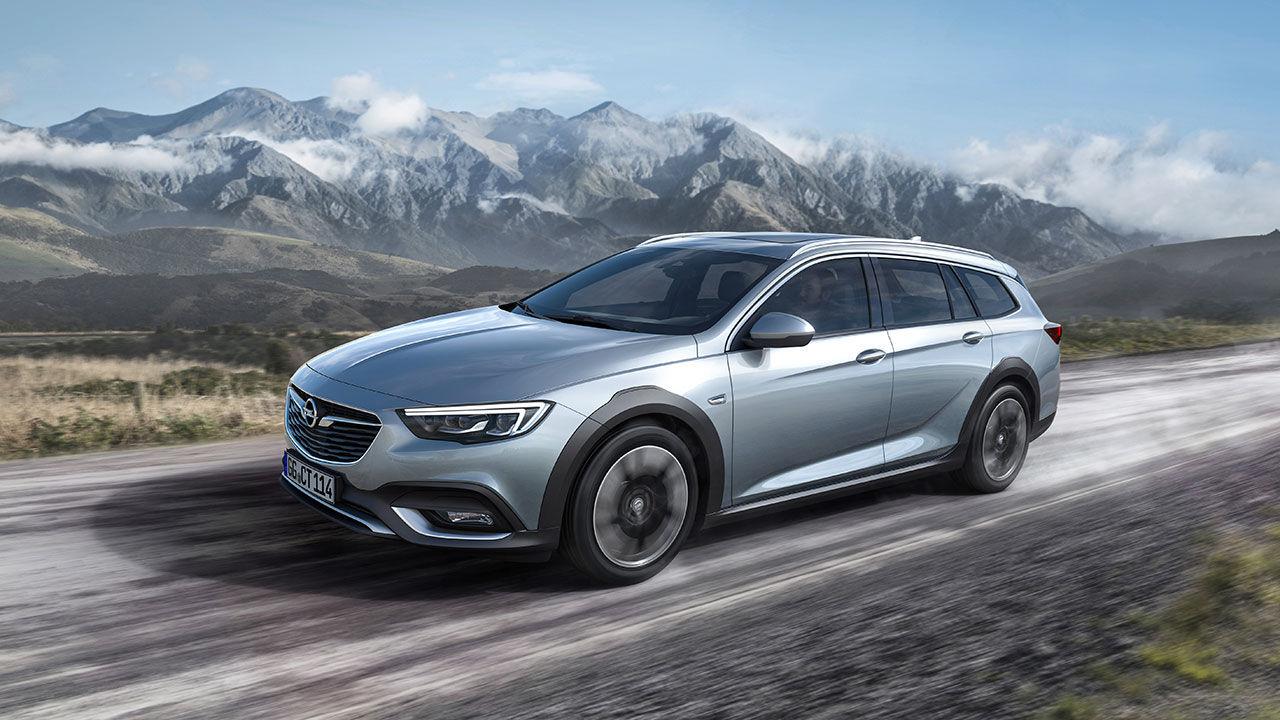 Nya Opel Insignia som skogsmulle