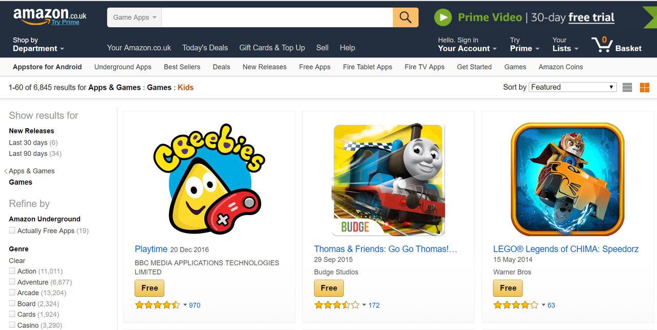 Amazon tänker nu betala tillbaka inköp som barn gjort i appar