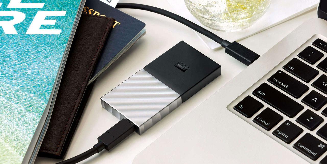 Western Digital släpper sin första bärbara SSD-disk