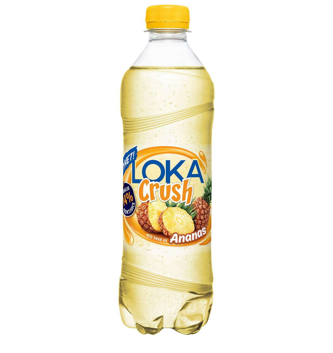 Loka Crush nu även med ananas